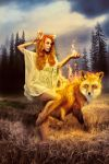 Fire Fox by Lady-Vilna