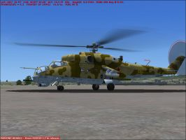 Mi-24 Hind E by Weasel102