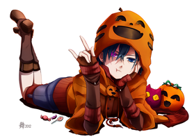 Pumpkin Ciel by feurae