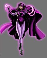 Star Sapphire Scarlet Witch by Lord-Lycan