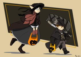 Happy Halloween, Brave Hunters by MoeAlmighty