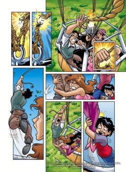 Eloria Comic Issue 1 Page by alexpal