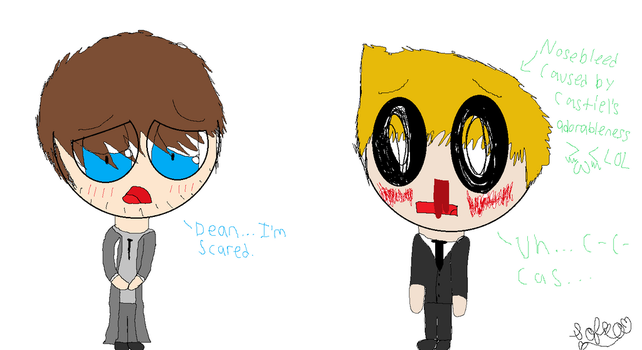 Dean is having a CUTENESS OVERLOAD!!! by IceCreamLover20