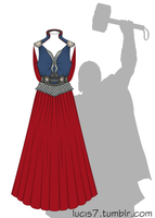 Thor dress by Lucis7