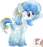 Ice Dreams Crystal Pony by Posey-11