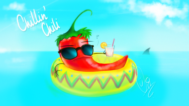 A chillin' chili - Livestream with Netty (32) by ScribbleNetty