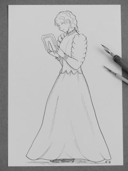 Memories: Rosamond Grey Character Sketch by Hestia-Edwards