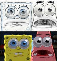 SpongeBob Storyboard: 'Feast your eyes, Patrick.' by shermcohen