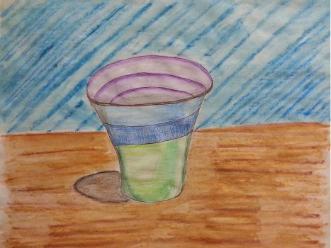 Glass On Table by shaybee