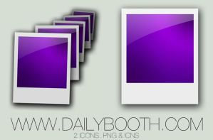 2 Dailybooth Web Icons by halfscottishguy
