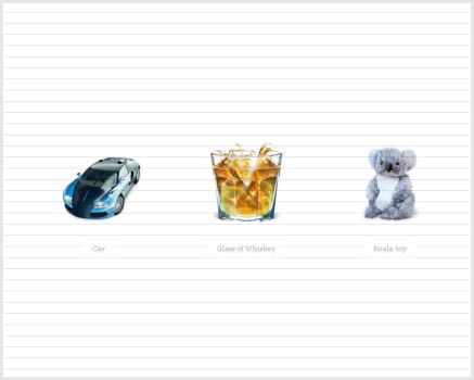 Koala, Car, Whiskey icons by taytel