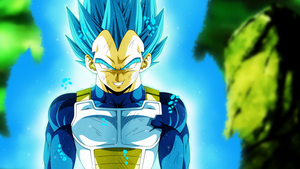 Vegeta Super Saiyan Blue by YobuGV