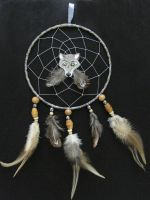 Wolf dreamcatcher by SaQe