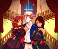 Commission: Cantarella Hetalia by YellowBlure