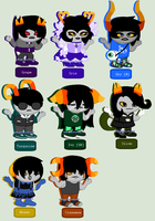 outer space trolls [open 1/8] by Adoptionstuck