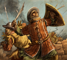 Infantry Assault by LordGood