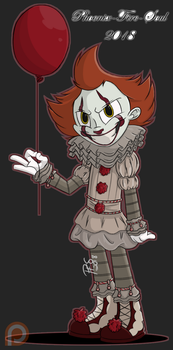Pennywise by Phoenix-Fire-Soul