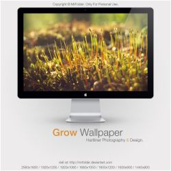 Grow Wallpaper by MrFolder