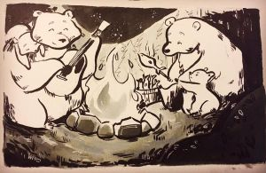 Inktober 2016 day 8 by taraforest