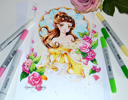 Princess Belle by Lighane