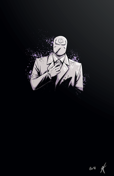 Moon Knight Colours by giantboydetective