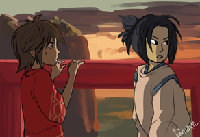 McHanzo Spirited Away AU by BLOKCT