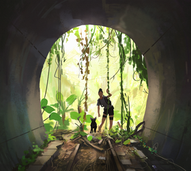 exploring the unknown by snatti89