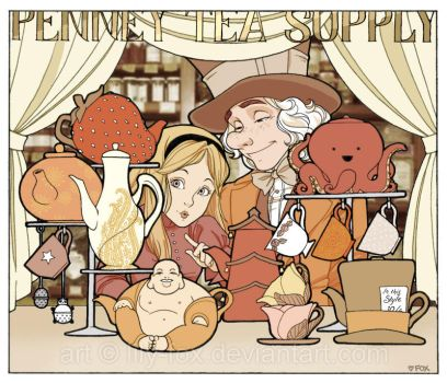 Down at the Penney Tea Supply by lily-fox