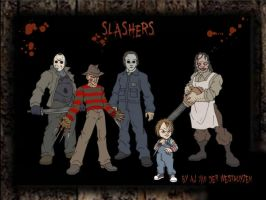 Slashers by vdwjohn