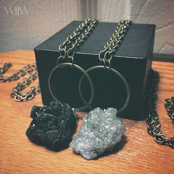 WOLF CRAFT Grave Stone Necklaces by wickedland