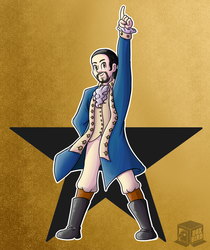 Commission: Alexander from Hamilton by BoxBird