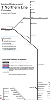 The Tube: T'Northern Line by DrPockets