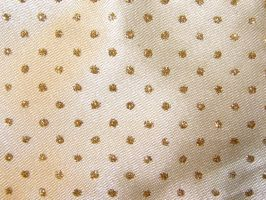 Gold Satin Fabric Texture by FantasyStock