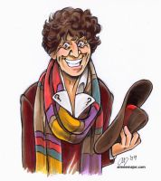 The Fourth Doctor by aimeekitty