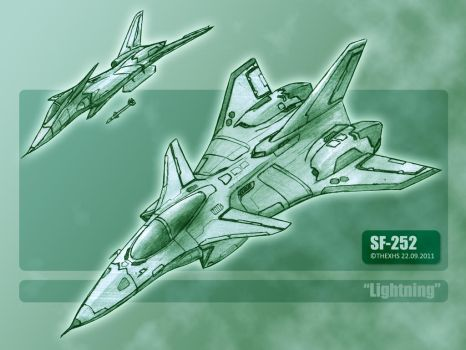 SF-252 Lightning by TheXHS
