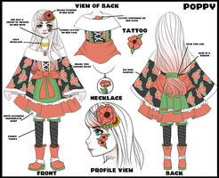 (CONTEST) MikomiKisomi - Poppy the Designer by EmilssH