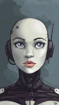 Android by BadLuckArt