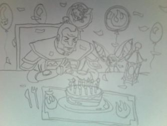 Zhao Takes The Cake(Outline) by FireNationPhoenix