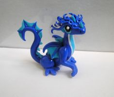 Water Dragon Sculpture by ByToothAndClaw