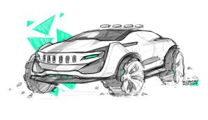 Jeep by roobi