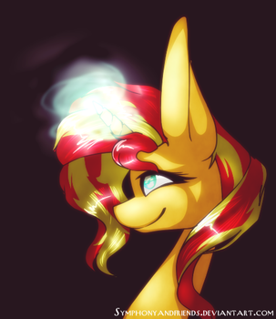 Sunset Shimmer (S.S Day EqD) by Lovely-Symphony