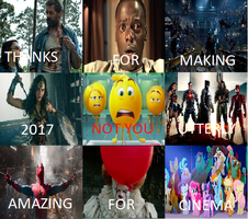 2017 in Film on a Screen by PowerLoud-Girl