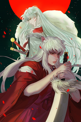 inuyasha by judaru