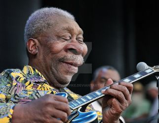 The King of Blues BB King by RodneyPike