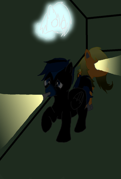 Request - Two ponies in the dark. by Freedom-of-my-Soul