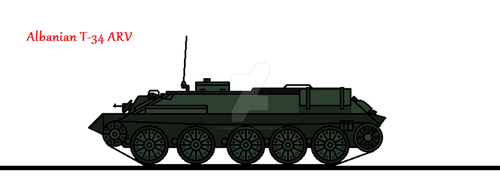 Albanian T-34 ARV by thesketchydude13