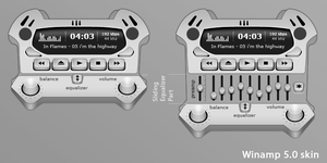 Interface.Winamp Skin.WIP by KriGH