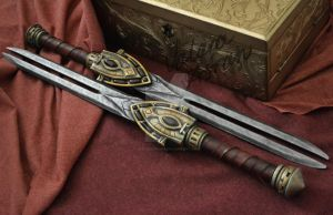 The Elder Scrolls Online - Trinimac Daggers by WhiteDemon19