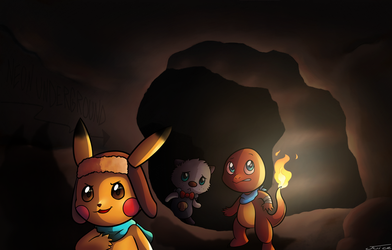 cave exploration by Neonunderground
