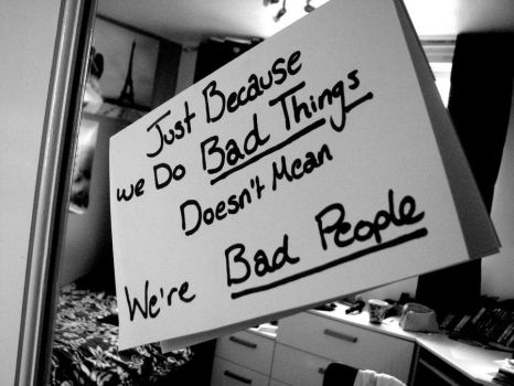 Bad People or Bad Choices? by Flexsy